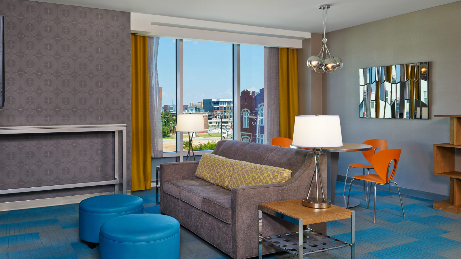 Oklahoma City Accommodations - Aloft Savvy Suite